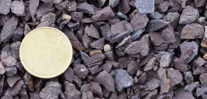 6mm Down Purple Chippings